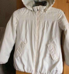 Куртка 👍 на девочку 8-10 лет, рост 134-140