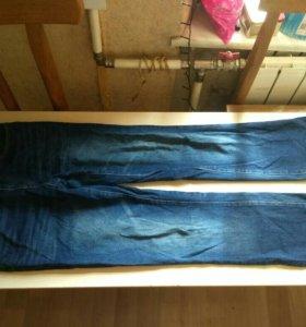 Джинсы zolla 28 синие мужские