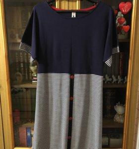 Платье домашнее х/б новое