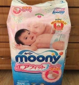 Moony L 54 подгузники на 9-14 кг
