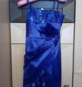 Платье на выпускной с балеро
