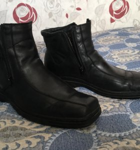 Зимние ботинки кожа 44р
