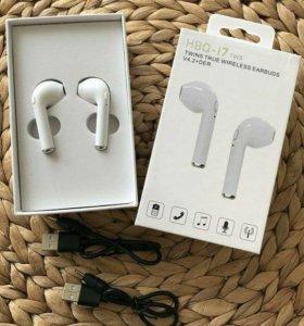 💥Беспроводные наушники HBQ I7 Bluetooth (Airpod)