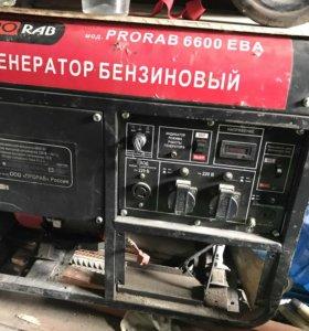 Генератор прораб 6600