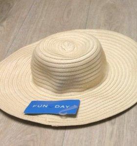 НОВАЯ  пляжная шляпка FUN DAY