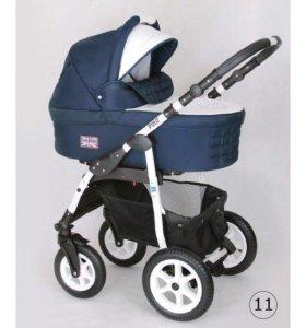 Коляска 2в 1 Car-Baby Polo Straz