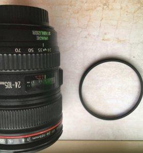 Canon L4 24-105 1:4 EF Lens