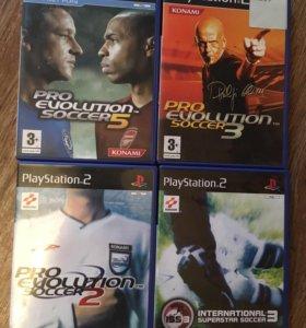Pro evolution на PS2 футбол