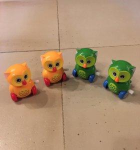 """Заводные игрушки """"Совята"""""""