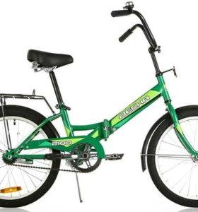 """Новый велосипед 20"""" Десна-2100. Зеленый"""