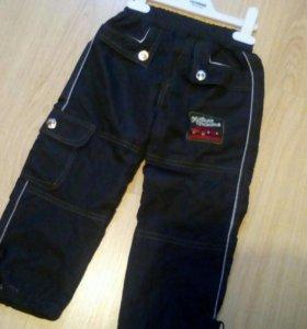 Непродуваемые штаны на мальчика 3 года