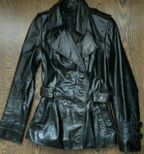 Куртка кожаная, размер 40-42