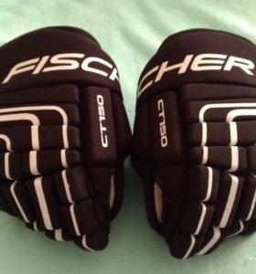 Перчатки хоккейные (Краги) Fischer 11