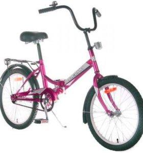 """Велосипед 20"""" Десна-2200. Пурпурный"""
