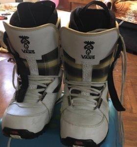 Ботинки сноубордические Vans Andreas Wiig