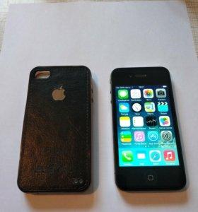 Iphone 4 (32gb)+ чехол