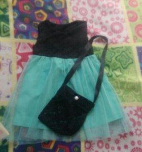 Дет.платье и сумочка