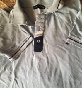 Рубашки мужские новые 48 р Tommy Hilfiger + майка