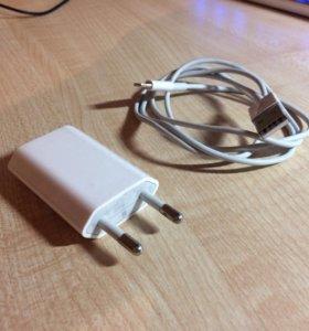 Продам оригинальный Lightning и ЗУ от iPhone 5S
