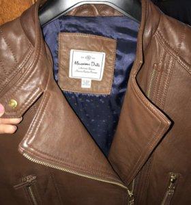 Massimo Dutti кожаная куртка