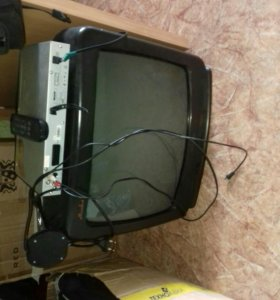 телевизор.+ DVD в подарок