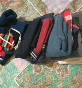 Пакет вещей для мальчика 86р.