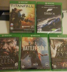 Xbox One диски