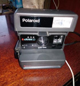 POLAROID 636 Closed up