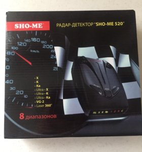 Радар-детектор Sho-me 520 антирадар