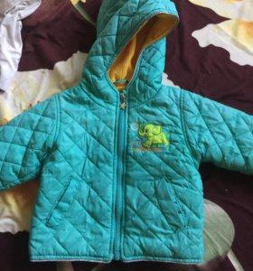 Куртка тоненькая на 80 см