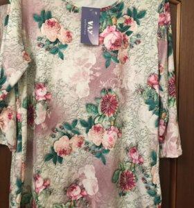 Продам новую блузку 56 оазмера