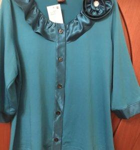Продам новую блузку 56 размера