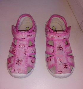 Туфли тапочки для сада 16 см
