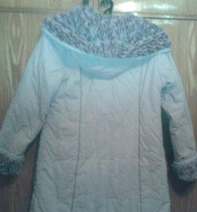 Куртка-пальто утепленная, осень-зима.