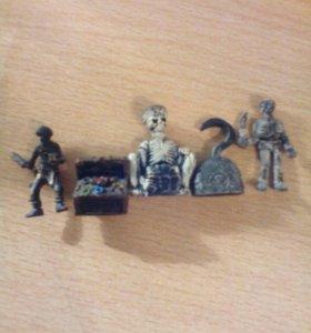 Игрушки пираты