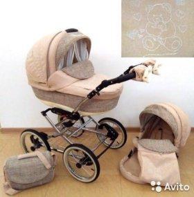 коляска bebe mobile santana mia 2в1