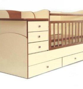 Кровать детская 5 в 1