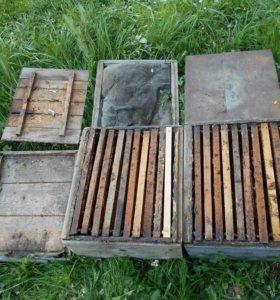 Ульи для пчел, двухкорпусные с рамками