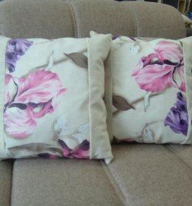 Подушки диванные ручной работы