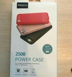 Новый чехол-аккумулятор на iPhone 7