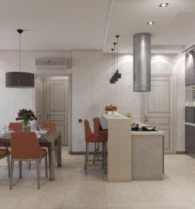 Ремонт квартир и катеджи любые отделочные работы