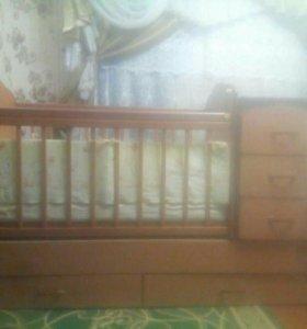 """Детская кроватка""""Ульяна"""""""""""