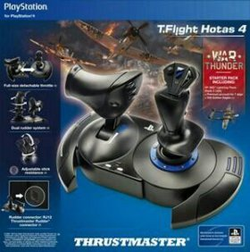 Джойстик thrustmaster flight hotas 4