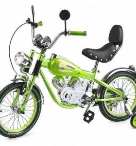 Детский Велосипед-мотоцикл