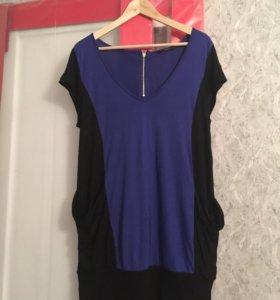 Трикотажная блуза oversized