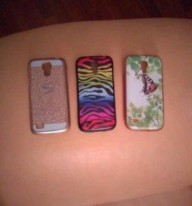 Отдам бамперы на Samsung Galaxy S4 mini