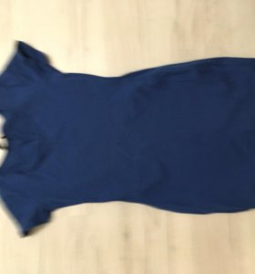 Платье синее бу
