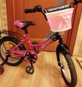 Детский велосипед (для девочки), от 3 до 5 лет