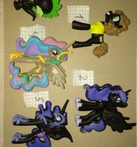 Пони игрушки фигурки funko vinyl найтмер Селестия