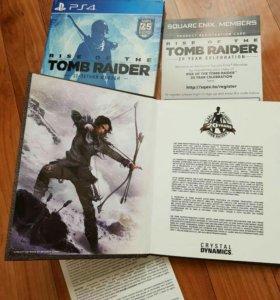Новый Томб Райдер Юбилейное издание на PS4